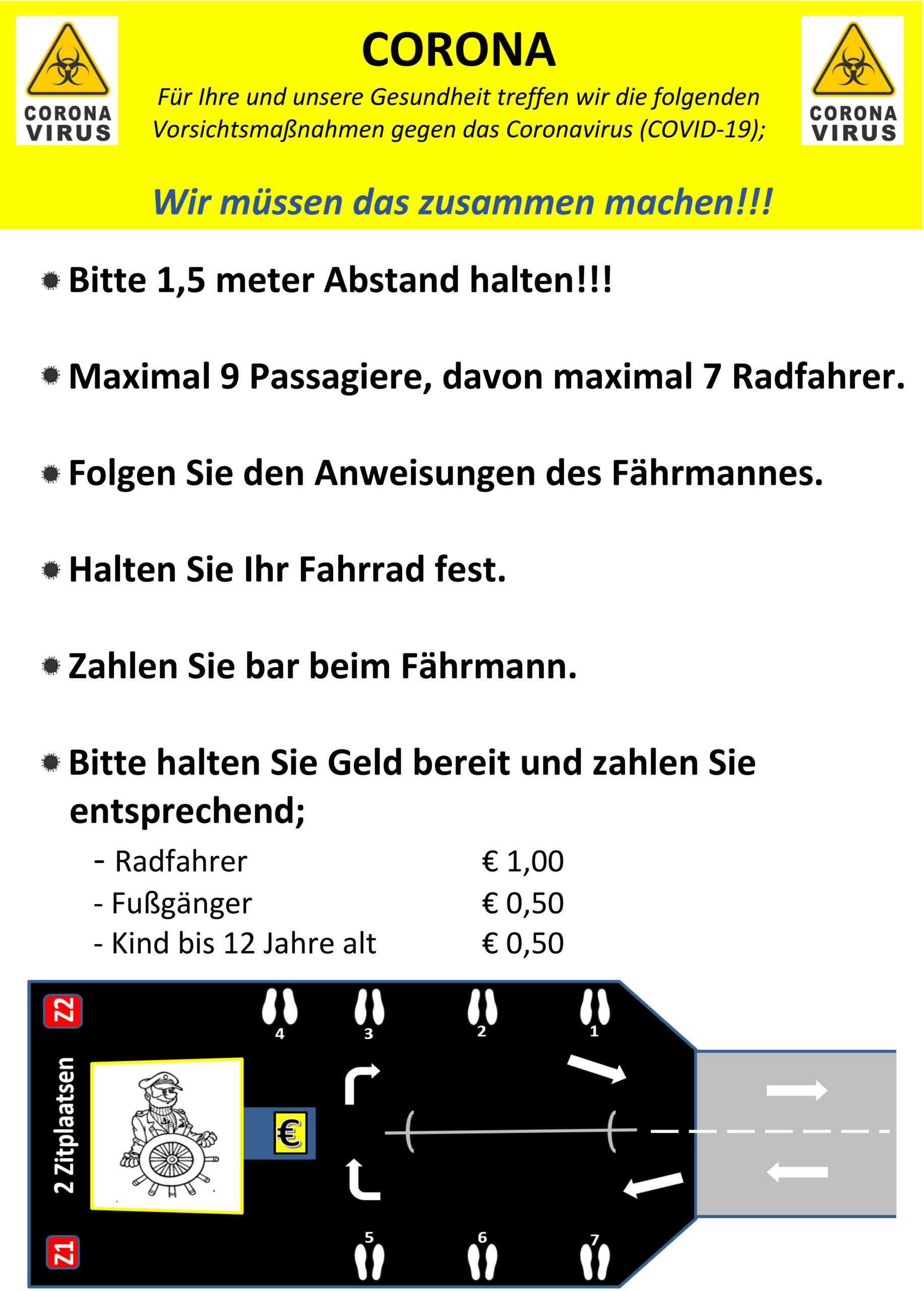 Aanwijzing voor passagiers V3 poster D