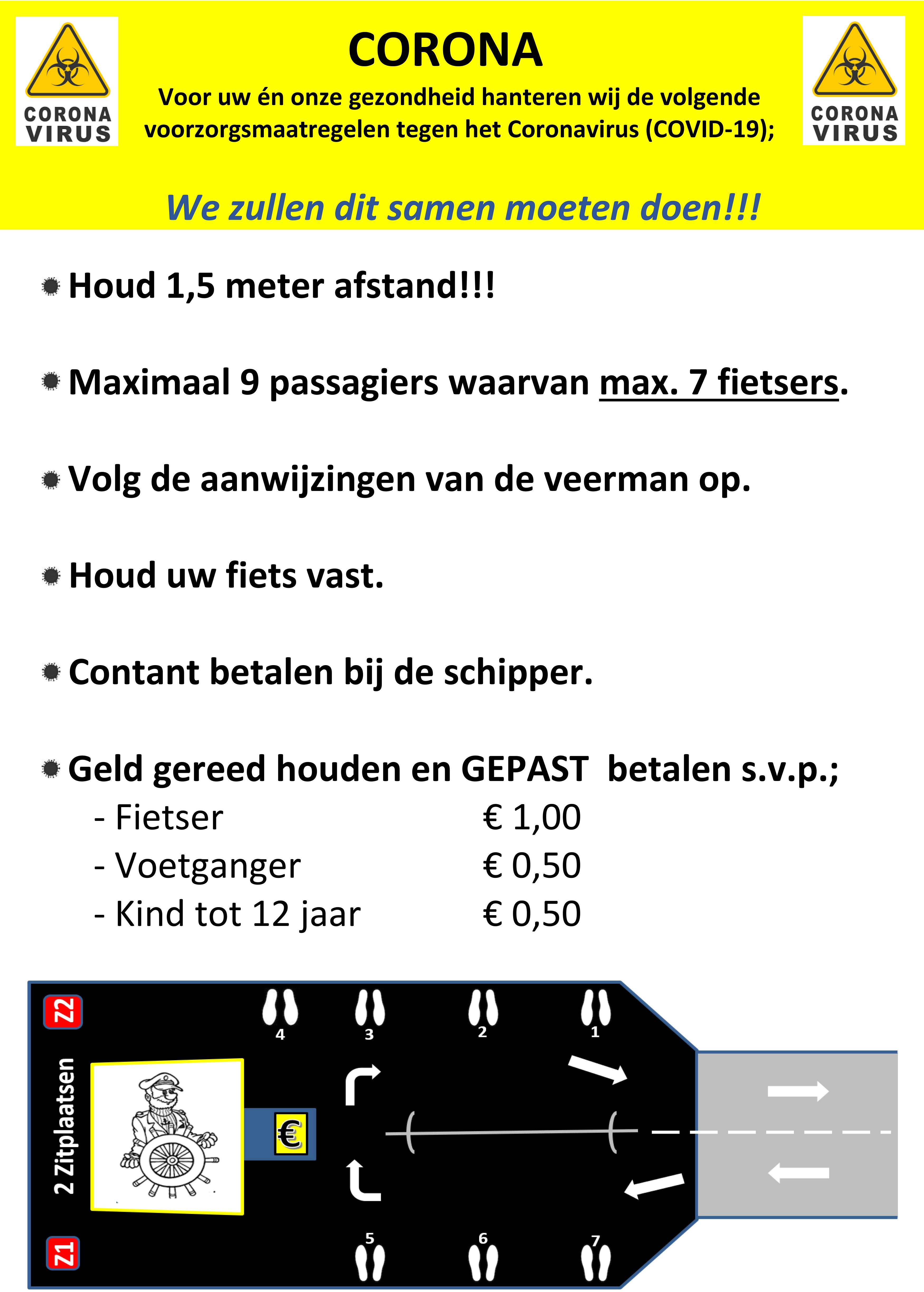 Aanwijzing voor passagiers V3 poster nl